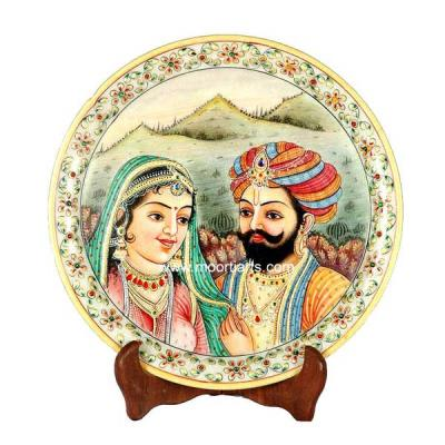 Rajasthani Couple Plate